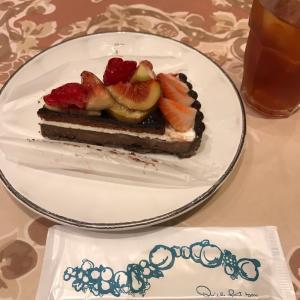 【銀座】〝キルフェボン〟さんでついに20日限定♡キャンドルナイトケーキに出会えた^ ^