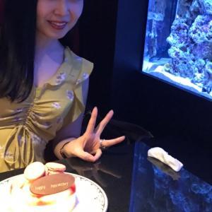 【新宿】〝新宿アクアリウムダイニングJeMare〟さんで結婚記念日をお祝い♡♡