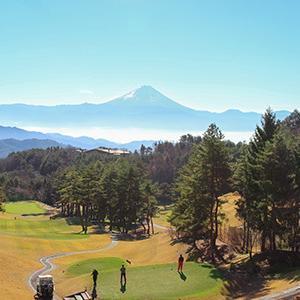 敷島カントリー倶楽部 全ホールから富士山が見えるゴルフ場