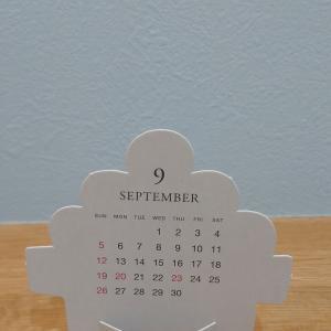 9月ですね