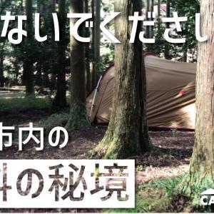 【関西キャンプ場】静原キャンプ場の魅力と注意点(本当は教えたくない)【完全無料の穴場】