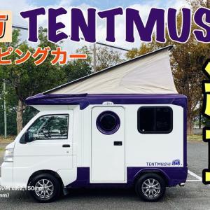 【納車】100万円中古キャンピングカー!テントむし