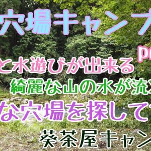 【関西穴場キャンプ場part6】こんな穴場を探してた 葵茶屋キャンプ場 綺麗な山の水での川遊びの出来る自然と触れ合えるキャンプ場