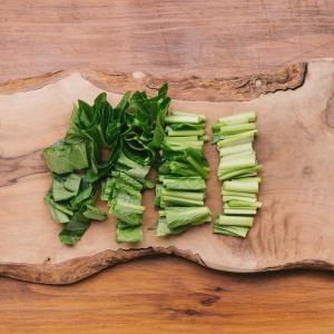 野菜の高騰を上手く避けた料理