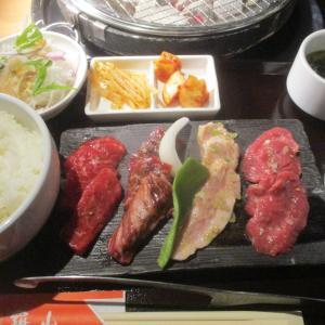 炭火焼肉 羅山、札幌市西区琴似。