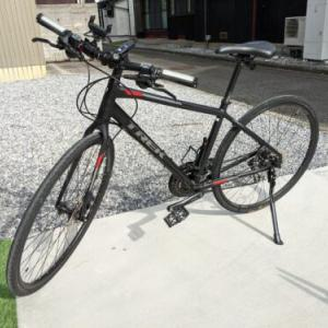 【雑記】TREK FX3 Disc クロスバイクにボントレガーキックスタンド取り付け