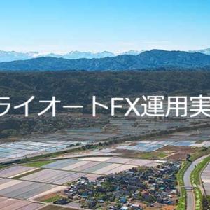 【トライオートFX運用実績】2021年10月11日週