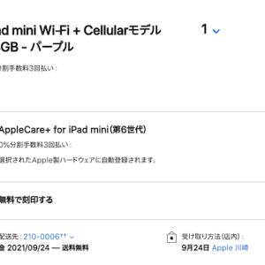 iPad mini 6th