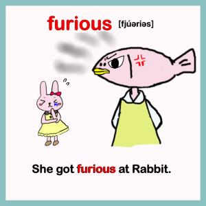 furious-イラスト英単語