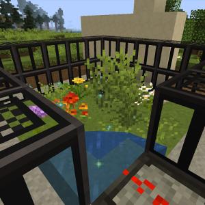 お花の自動回収装置