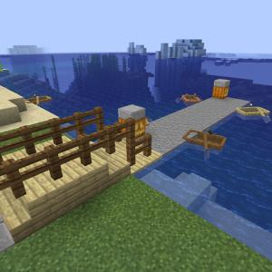 桟橋づくり