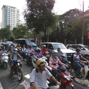 ベトナム ホーチミン 2015年9月訪問です