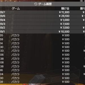 5万円BET500円スタート!バカラ複利運用開始1週目の結果