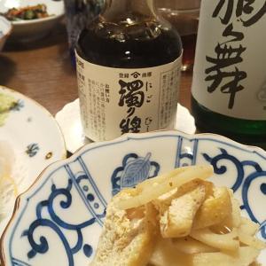日本酒 と お醤油