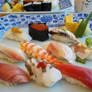 墓参と お寿司