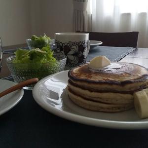 パンケーキの朝