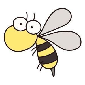 ハチ、怖いよ。