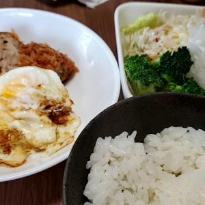 9/19(日)  朝食(食事制限:カロリー1800kcal,カリウム1500mg,タンパク質50g,塩分6g)