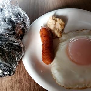 9/21(火)  朝食(食事制限:カロリー1800kcal,カリウム1500mg,タンパク質50g,塩分6g)