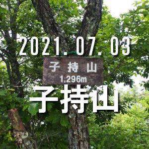 2021.07.03 子持山 5号橋駐車場から周回