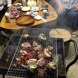 ジビエで焼き肉。イノシシ肉はサイコーね・・・!!