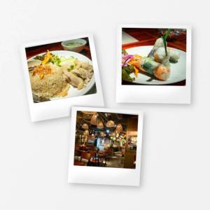大阪のベトナム料理 NONLA 本町店は生春巻きとハスサラダのおいしい店