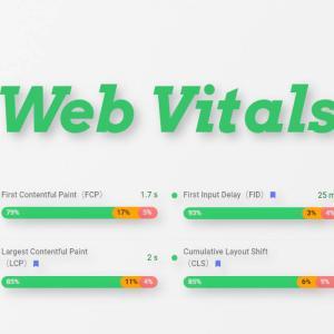 コアウェブバイタルを測定できる拡張機能Web Vitalsの使い方