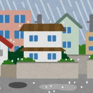 【ただの日記】大雨の休日