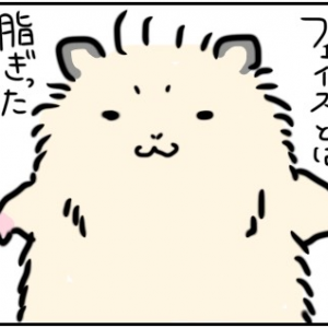 【夫婦4コマ】oily face