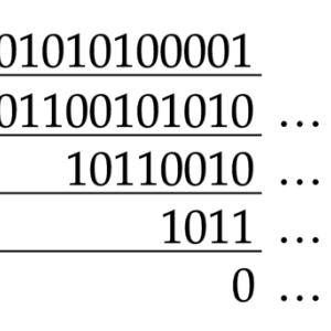 2進数を16進数に変換するときなぜ4桁ごとに区切るのか?