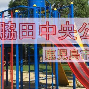 【鹿児島市】新しい遊具で緑もある!町の中の綺麗な公園【脇田中央公園】