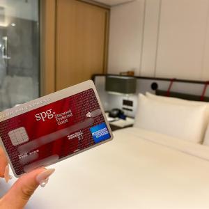 ホテルステイ好きにはこれ一枚、SPGアメックスカードをおすすめします!