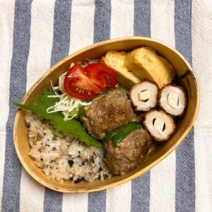 20210823ピーマンの肉詰め弁当【プラス小4学童弁当】&エアロビはじめました