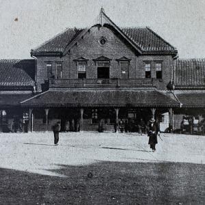 仙台駅2代目駅舎はシンメトリーの風格あるつくりだった!仙台駅の初代と2代目の駅舎写真