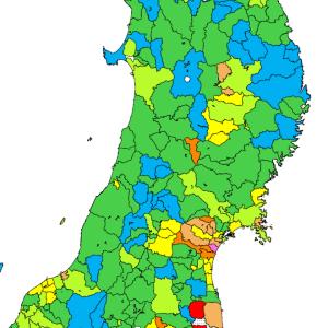 総務省発表の人口速報集計、2015年-2020年の仙台市人口増加数は全国13位!