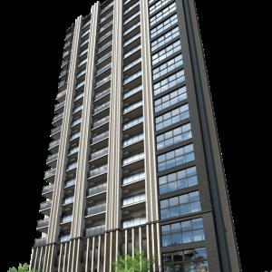 仙台中心部のマンション、「プラウドタワー本町二丁目」の完成イメージが公開!