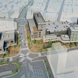 秋田県横手市、駅前に公共施設・商業施設・住宅・ホテルなどを建設する「横手駅東口第二地区市街地再開発」のまとめ