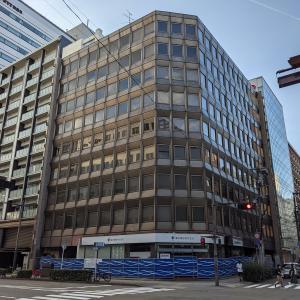 仙台の南町通り沿いの「旧仙台中央ビル建て替え計画」現建物の解体工事が開始!
