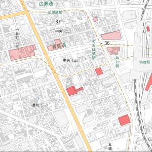 仙台市中心部の再開発予定エリアMAP&完成イメージ一覧(2021年9月時点)