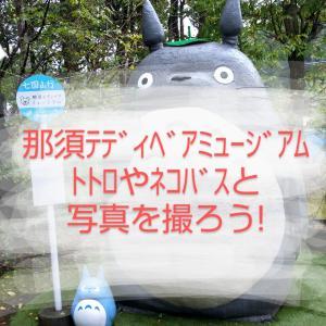 那須テディベアミュージアムでトトロと一緒に写真を撮ろう!観光ルポ