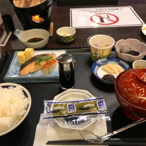新大阪のホテルメルパルクの朝食