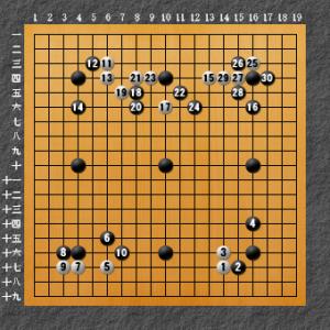 置き碁解説2-3