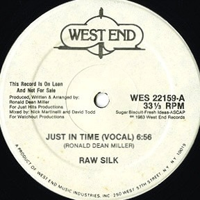 *Raw Silk - Just In Time ♪