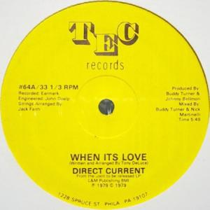 *Direct Current – When Its Love♪
