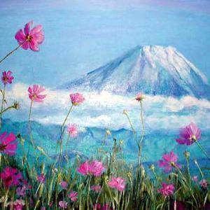 運気最強☆風水アート富士山の絵画