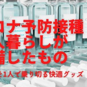 コロナ予防接種副反応に備えて一人暮らしが準備したもの10点