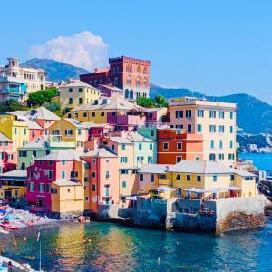 【リグーリア海岸】ボッカダッセは観光日数が少ない人にお勧め!