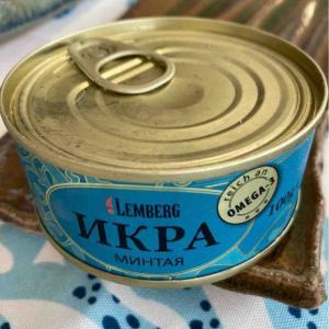 ロシアスーパーでタラコを買ってみた