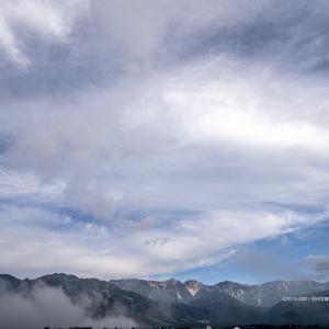 雲の多い日