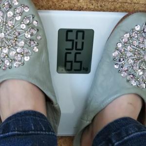 9日目体重計測 リンゴ酢+コントレックス飲むだけダイエット